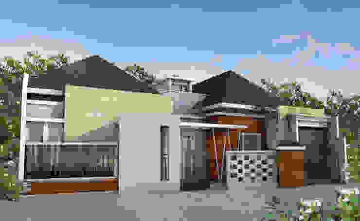Rumah Tropis Modern Oleh zoelsitektur