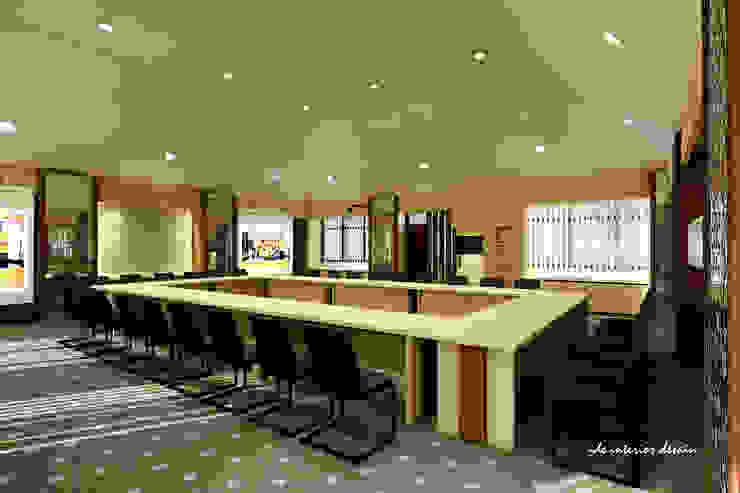 Aula PT Phapros Indonesia Ruang Studi/Kantor Gaya Mediteran Oleh Ide Interior Mediteran Kayu Lapis