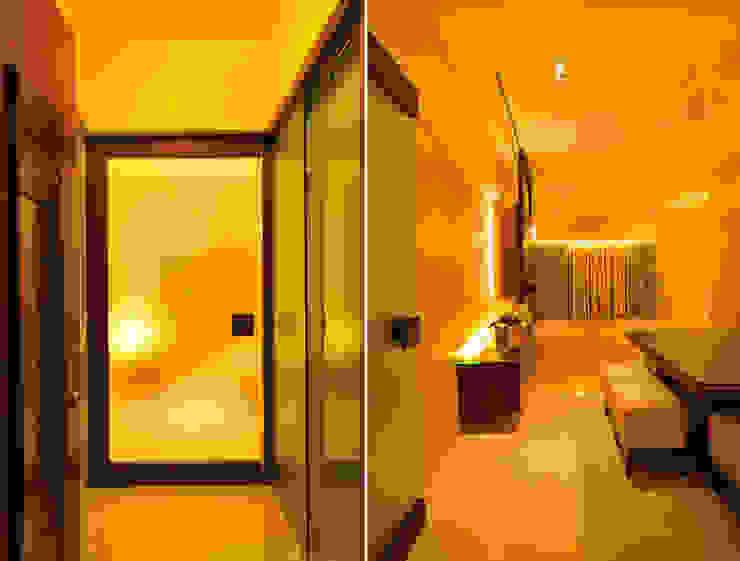sewri residence Minimalist living room by Karyam Designs Minimalist Wood Wood effect