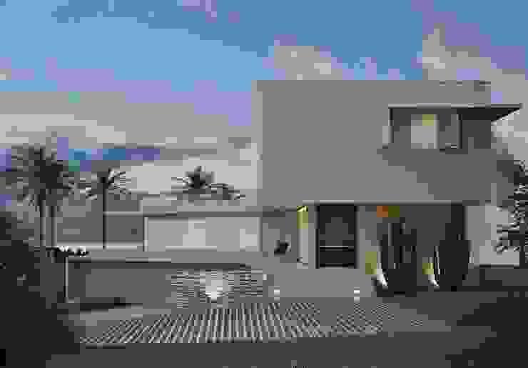 Residência Pedra Alta Casas modernas por Marcos Baldasso Arquitetura Moderno