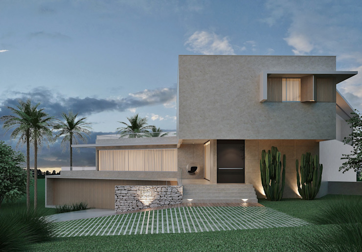 Rumah Modern Oleh Marcos Baldasso Arquitetura Modern