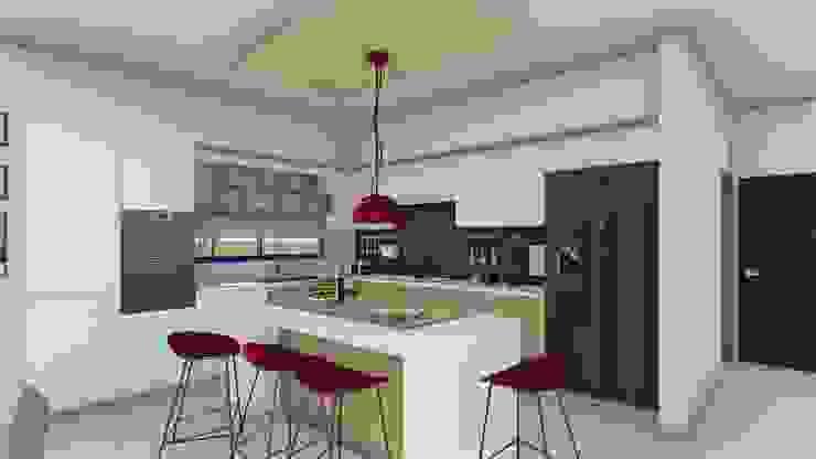 Kitchen by ARBOL Arquitectos