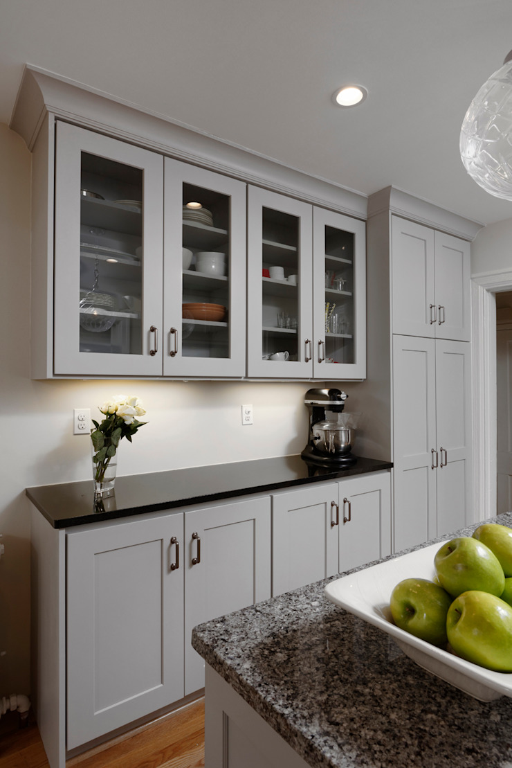 Washington DC Capitol Hill Design Build Kitchen Renovation BOWA - Design Build Experts Kitchen Grey