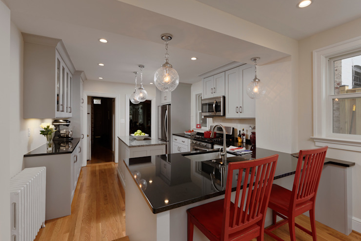 Washington DC Capitol Hill Design Build Kitchen Renovation BOWA - Design Build Experts Kitchen