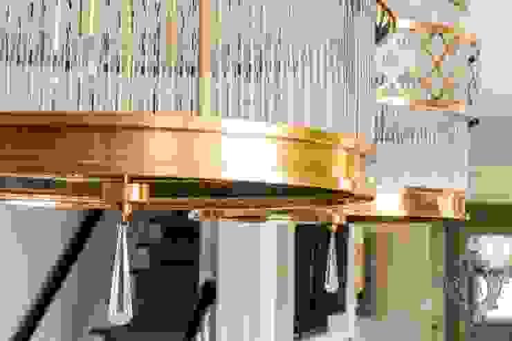 Dash of Gold Modern Kitchen by Kellie Burke Interiors Modern
