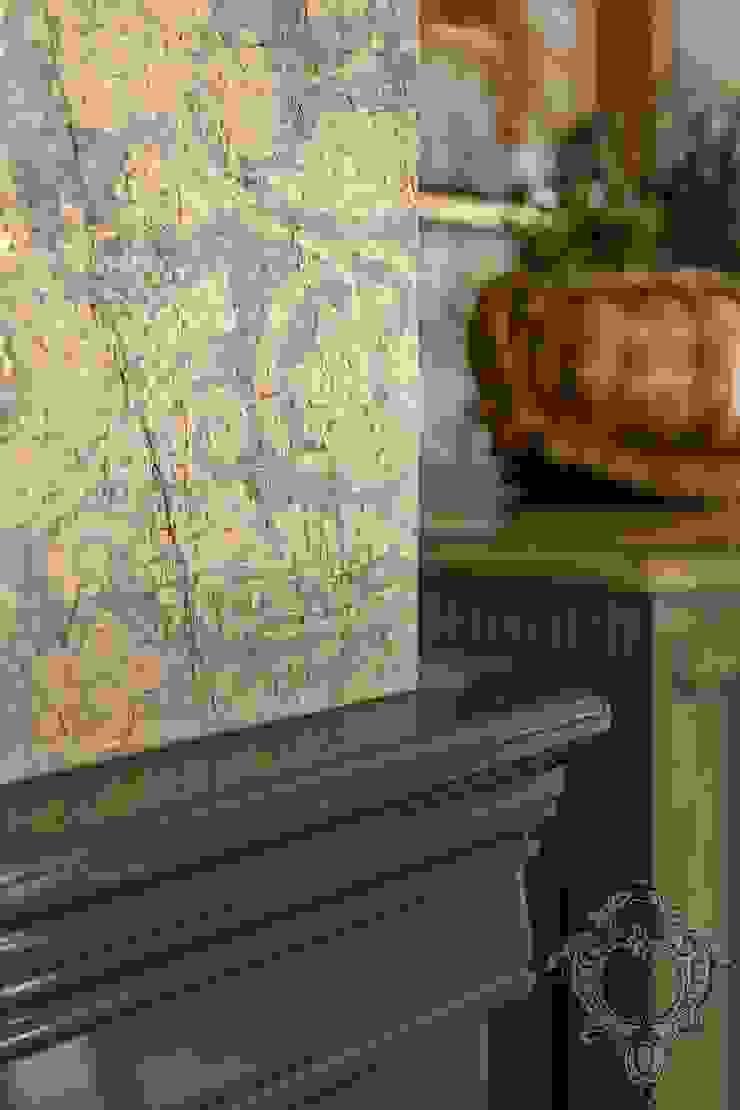 Dash of Gold Modern Dining Room by Kellie Burke Interiors Modern