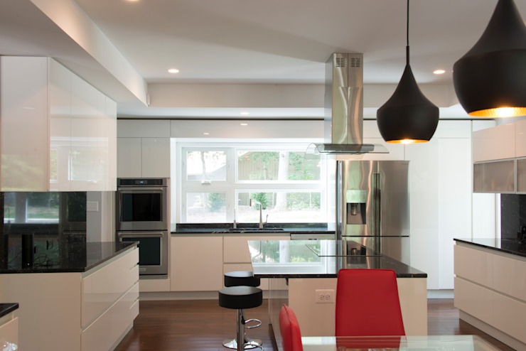 ARCHI-TEXTUAL, PLLC Modern kitchen