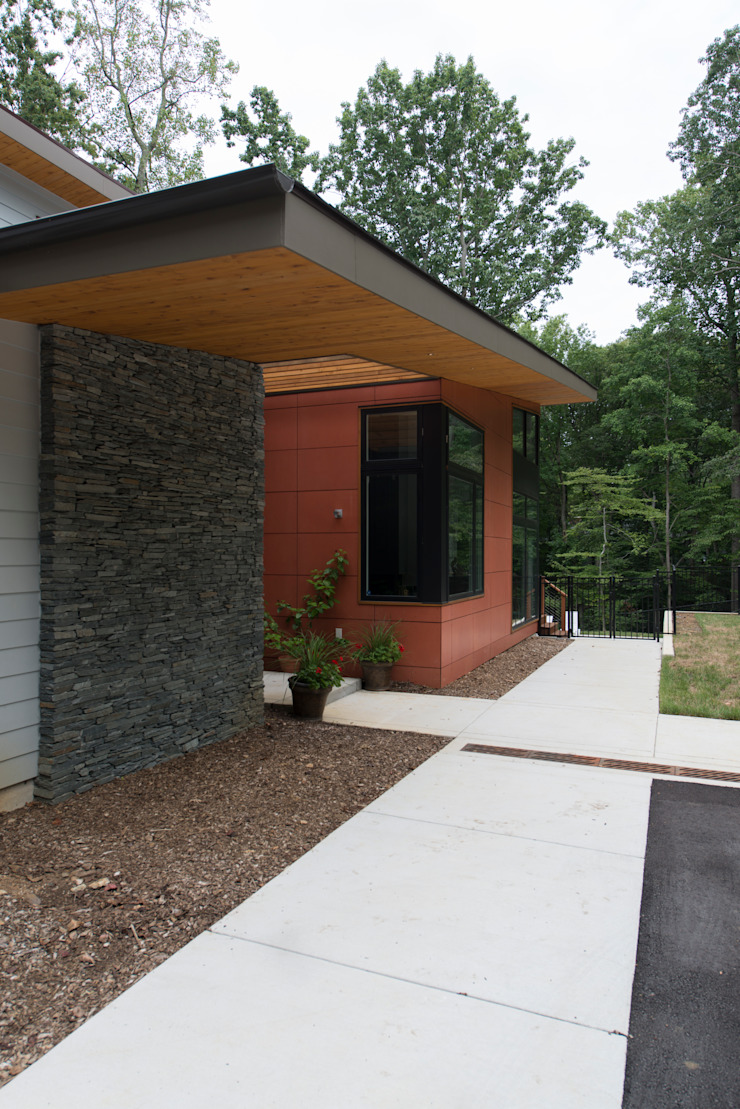 Casas modernas: Ideas, imágenes y decoración de ARCHI-TEXTUAL, PLLC Moderno