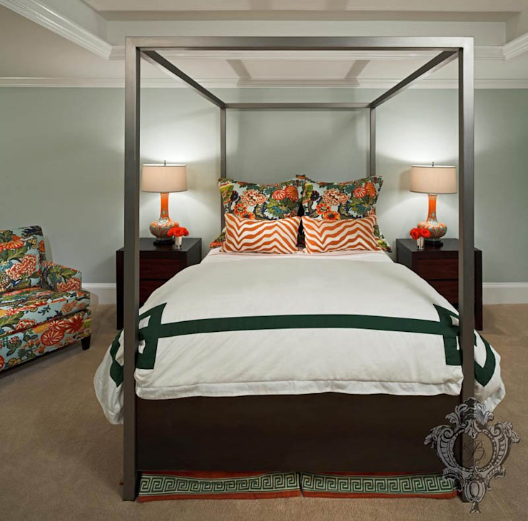 Bedroom Kellie Burke Interiors Eclectic style bedroom