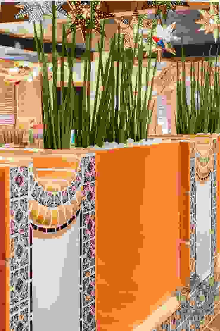 Restaurant Details by Kellie Burke Interiors Mediterranean