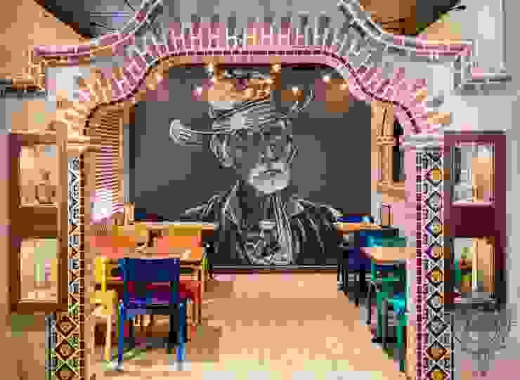 Fiesta Room by Kellie Burke Interiors Mediterranean