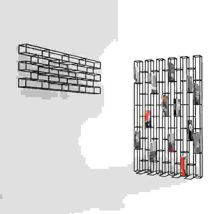 BRICKS: modern  door Studio Gerard de Hoop , Modern Metaal
