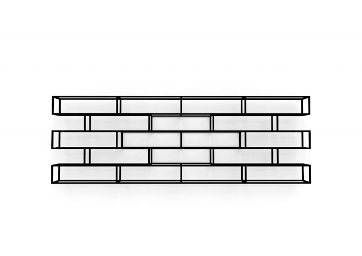 BRICKS van Studio Gerard de Hoop Minimalistisch Metaal