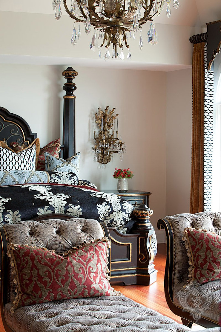Master Bedroom Classic style bedroom by Kellie Burke Interiors Classic