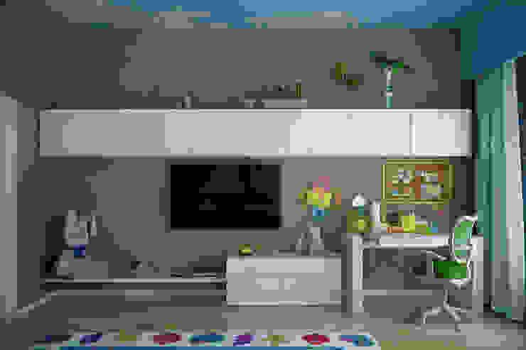 Kamar Bayi/Anak Modern Oleh Студия интерьерного дизайна happy.design Modern