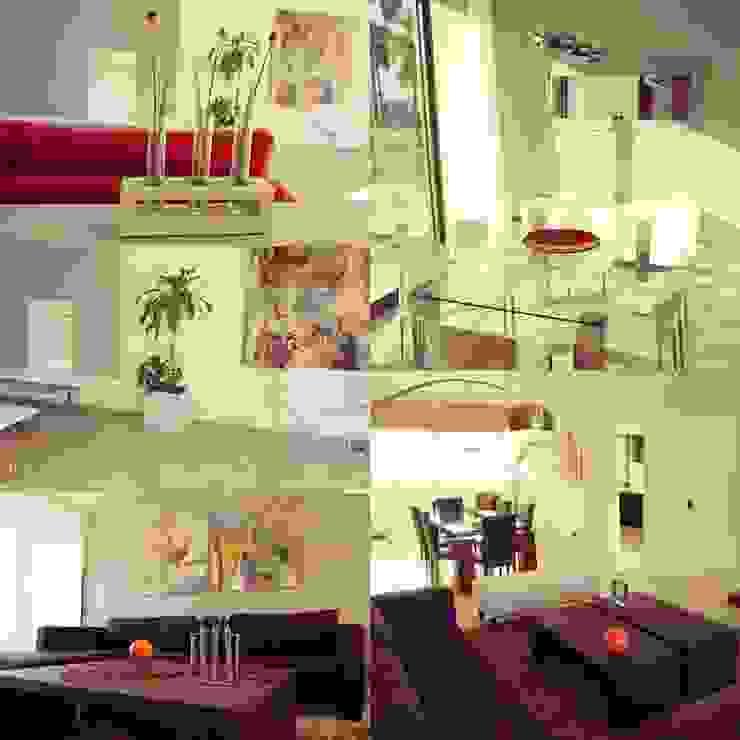 Interiorismo/Diseño de Muebles Livings modernos: Ideas, imágenes y decoración de Estudio Karduner Arquitectura Moderno Vidrio