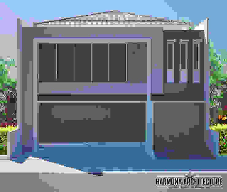 Ruko 2 Lantai Pusat Perbelanjaan Modern Oleh Harmony Architecture Modern Beton Bertulang