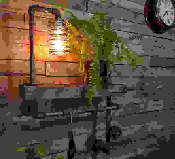 Lamparas Vintage Vieja Eddie Living roomAccessories & decoration Wood Multicolored
