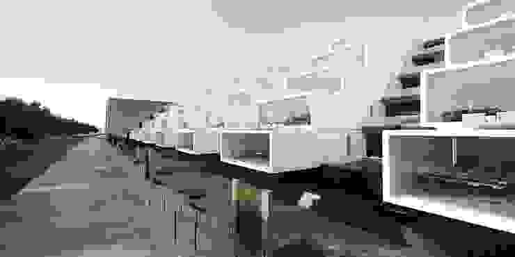 Facultad de Arquitectura de ARCHITECTS Minimalista Concreto reforzado