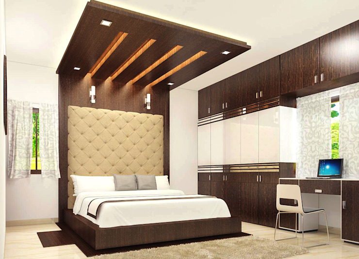 Residence OF Mr.Raghav Classic style bedroom by A-Z Architects & Vaastu Classic