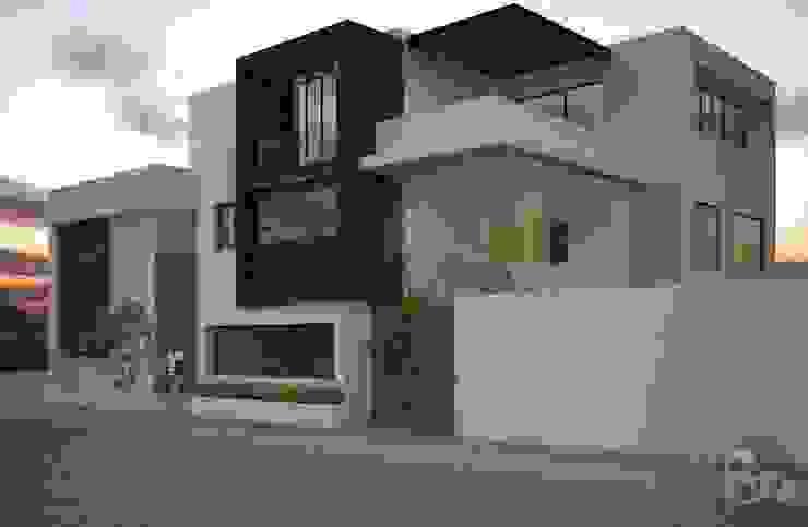 モダンな 家 の ECNarquitectura モダン