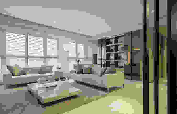 Modern living room by 汎羽空間設計 Modern
