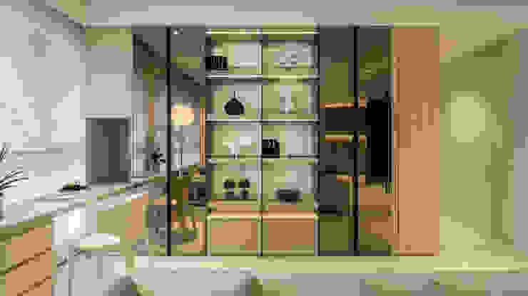 Modern study/office by 汎羽空間設計 Modern