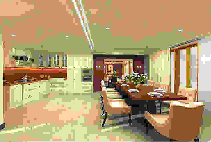 Cuisine classique par Kamala Interior Classique