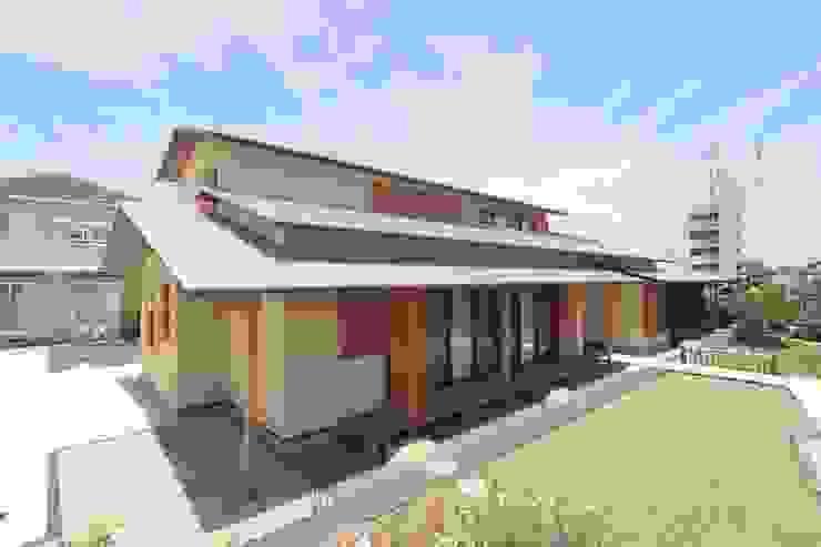 和風外観住宅 株式会社 北島建築設計事務所 日本家屋・アジアの家 木 ブラウン