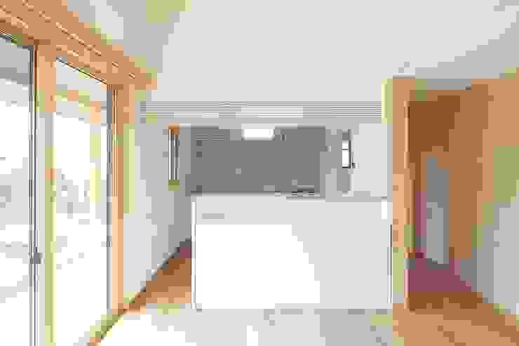 二世帯住宅アイランド対面キッチン 株式会社 北島建築設計事務所 和風の キッチン