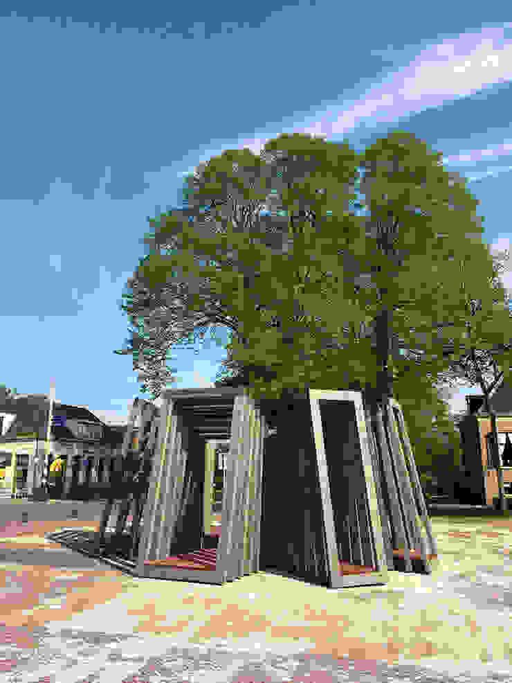 Folly De Swoaistee Moderne exhibitieruimten van Huting & De Hoop Modern
