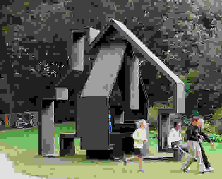 Folly Noorderzon Moderne exhibitieruimten van Huting & De Hoop Modern