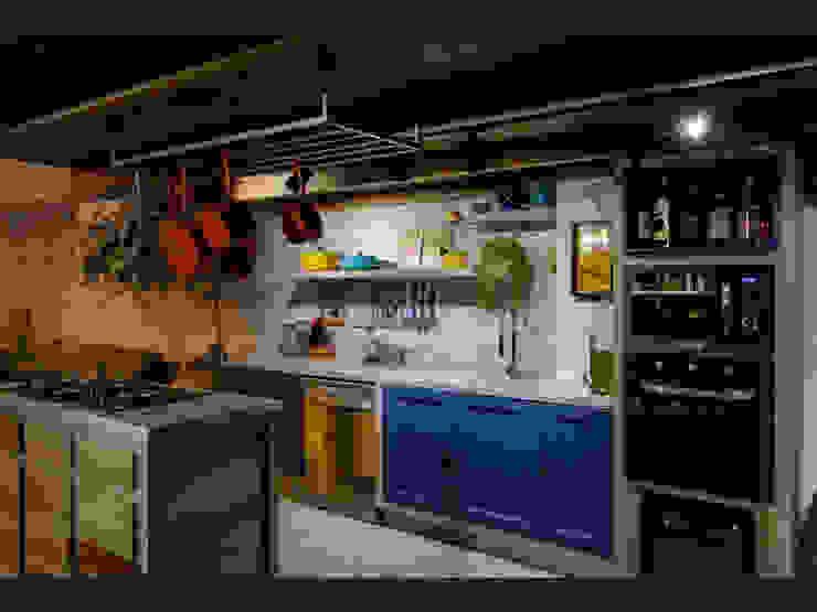 Nhà bếp phong cách nhiệt đới bởi homify Nhiệt đới