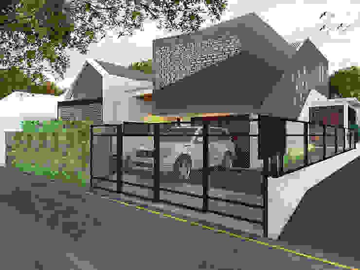 RUMAH STM 1 Oleh DMNT Architects