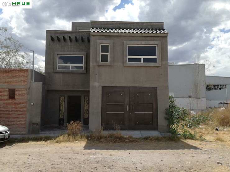 Rumah Gaya Rustic Oleh OmaHaus Arquitectos Rustic
