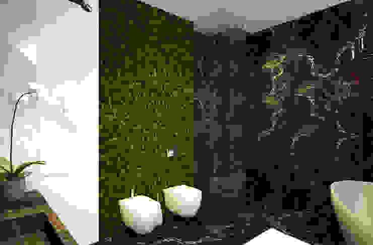 Casas de banho ecléticas por U-Style design studio Industrial