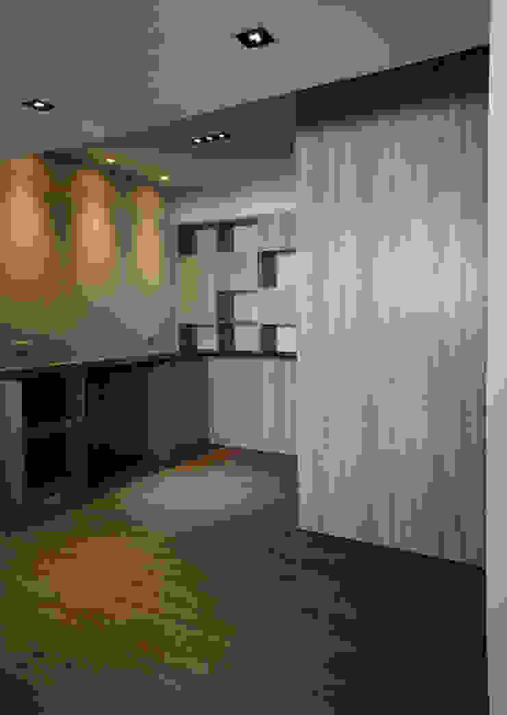 Salas de jantar modernas por ISQ 質の木系統家具 Moderno