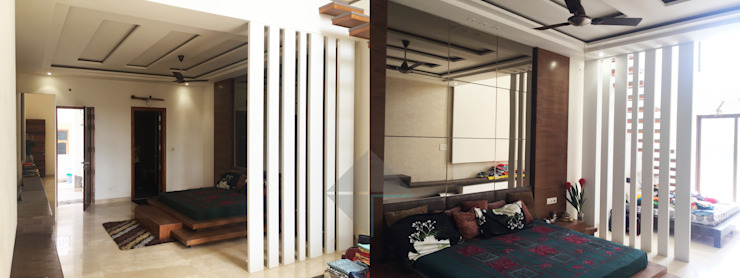 KIRTI BHAWAN APT Designs Modern style bedroom