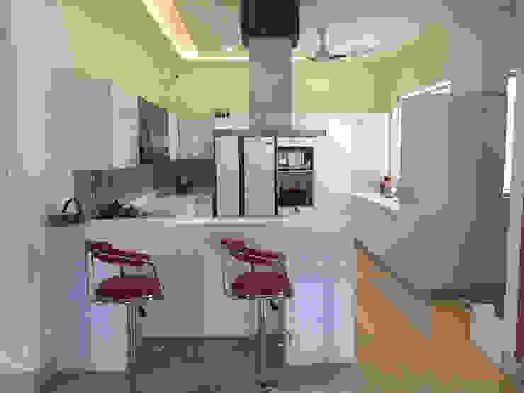 KIRTI BHAWAN APT Designs Modern kitchen