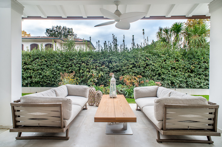 Jardin moderne par STUDIO PISANI Moderne