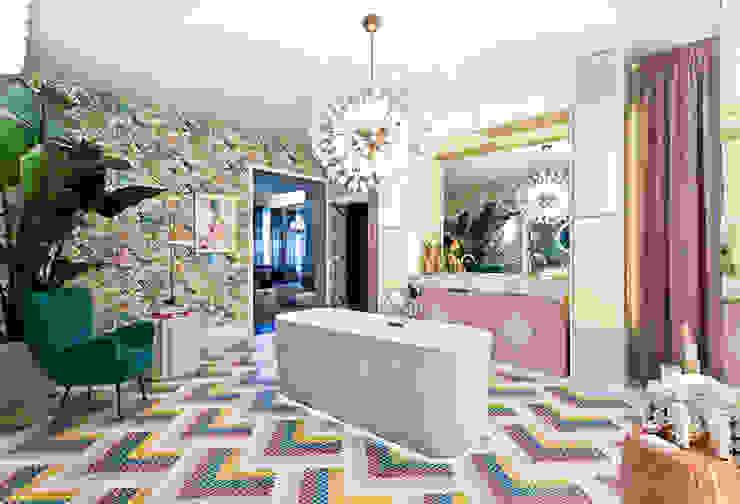 Villeroy & Boch 現代浴室設計點子、靈感&圖片