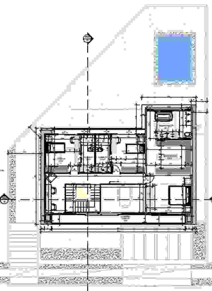 adnssouza arquitetura e interiores Rumah Modern
