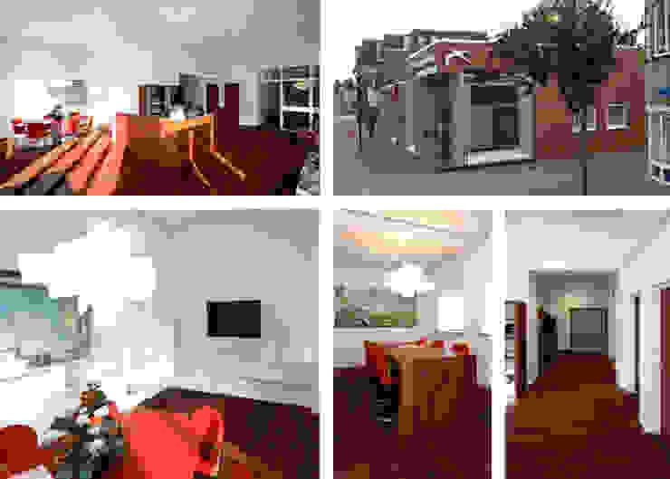 Interieurs en meubels voor makelaarskantoor Moderne kantoor- & winkelruimten van Huting & De Hoop Modern