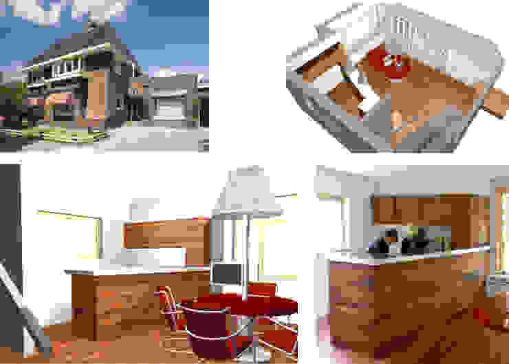 Interieurs en meubels voor makelaarskantoor: modern  door Huting & De Hoop, Modern