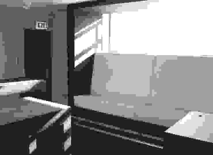 Lounge bank en tafels voor de Academie van Bouwkunst in Groningen. Moderne studeerkamer van Huting & De Hoop Modern
