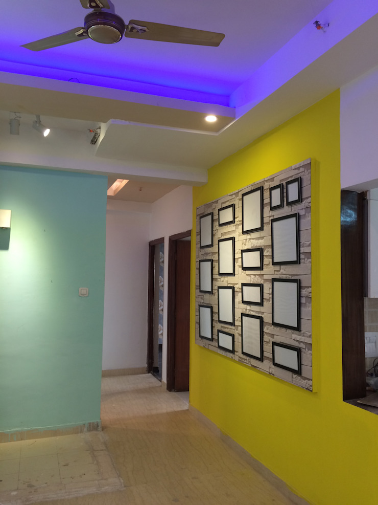 3 BHK in Mahagun Moderne Noida: modern  by Pee Cee Interiors,Modern
