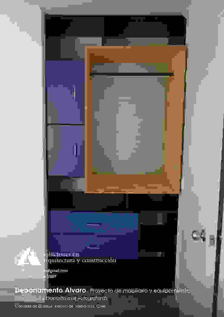 Departamento Alvaro. Proyecto de mobiliario y equipamiento de Ados Moderno