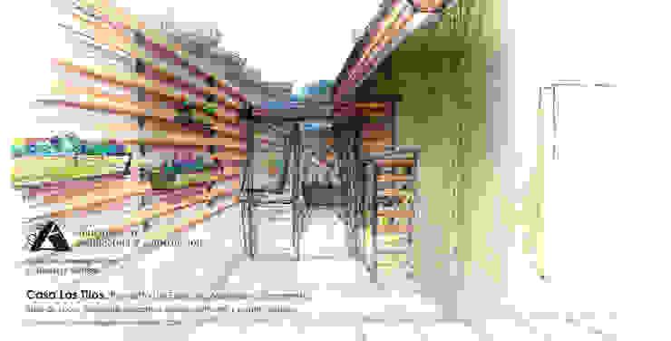 Casa Los Tilos. Proyecto de espacios, mejoras y ornamento. de Ados Rústico
