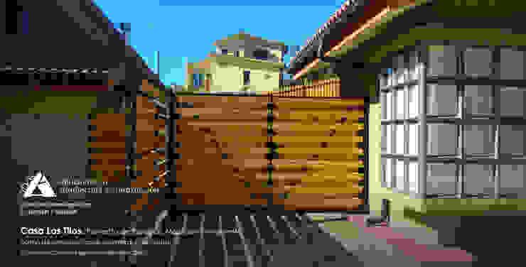 Casa Los Tilos. Proyecto de espacios, mejoras y ornamento. Casas de estilo rústico de Ados Rústico