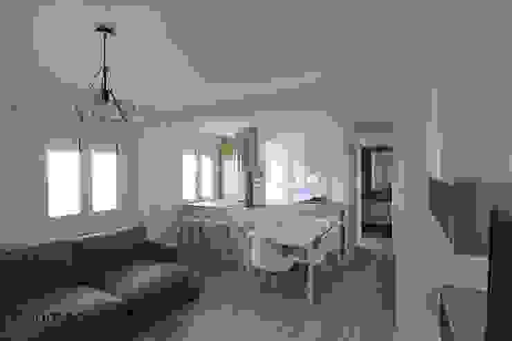 Salon / cocina Salones de estilo escandinavo de Danma Design Escandinavo